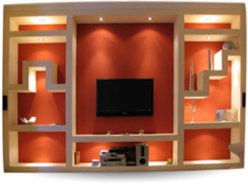 Construcci n ligera en guadalajara - Muros decorativos para interiores ...